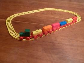 玩具火车组(包括轨道)